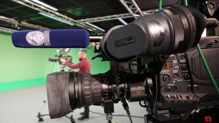 Eine Kamera.